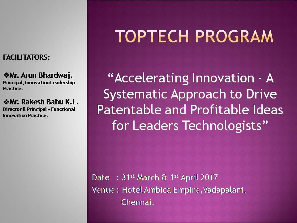 Toptech Program